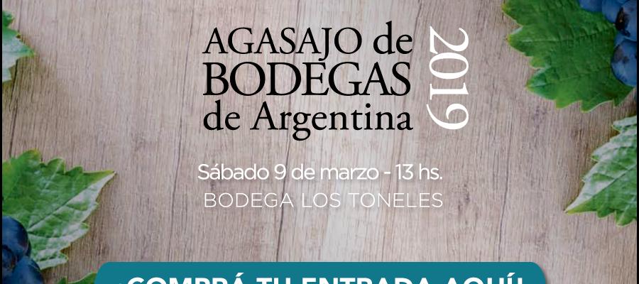 ¡Conseguí tu entrada para el Agasajo de Bodegas de Argentina!